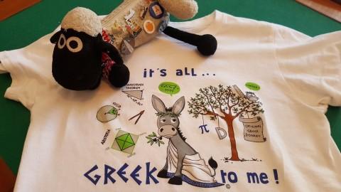 Uma t-shirt especial: estratégia da professora Cidália